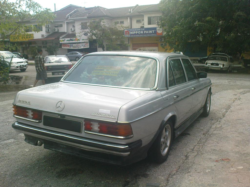Mercedes Benz E Class W123 Amg Custom Modification Akiwa Autobahn